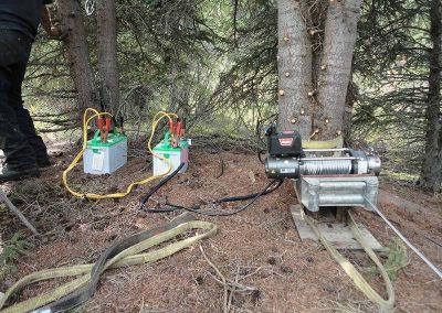 Beaver dam removal – Fish Lake hydro, YT