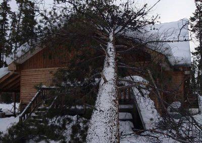 Storm damage – Teslin, YT